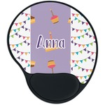 Happy Birthday Mouse Pad with Wrist Support