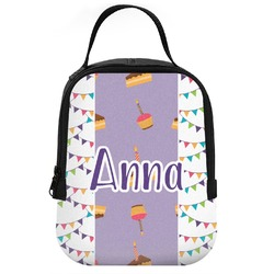 Happy Birthday Neoprene Lunch Tote (Personalized)