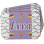 Happy Birthday Dining Table Mat - Octagon w/ Name or Text
