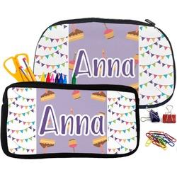 Happy Birthday Pencil / School Supplies Bag (Personalized)