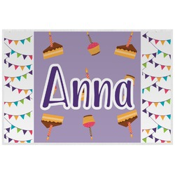 Happy Birthday Laminated Placemat w/ Name or Text