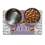 Happy Birthday Dog Food Mat (Personalized)