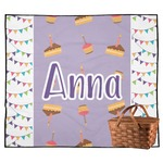 Happy Birthday Outdoor Picnic Blanket (Personalized)