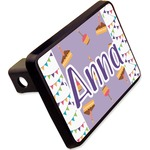 """Happy Birthday Rectangular Trailer Hitch Cover - 2"""" (Personalized)"""