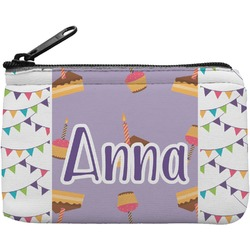 Happy Birthday Rectangular Coin Purse (Personalized)