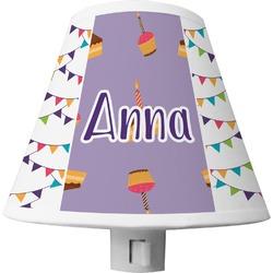 Happy Birthday Shade Night Light (Personalized)