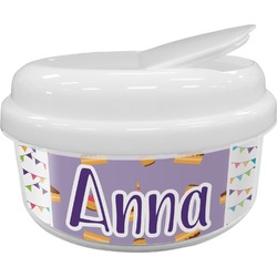 Happy Birthday Snack Container (Personalized)