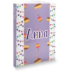 Happy Birthday Softbound Notebook (Personalized)