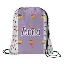 Happy Birthday Drawstring Backpack (Personalized)