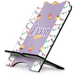 Happy Birthday Stylized Tablet Stand (Personalized)
