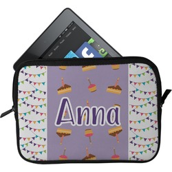 Happy Birthday Tablet Case / Sleeve (Personalized)