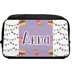 Happy Birthday Toiletry Bag / Dopp Kit (Personalized)