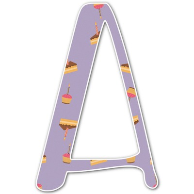Happy Birthday Letter Decal - Custom Sizes (Personalized)