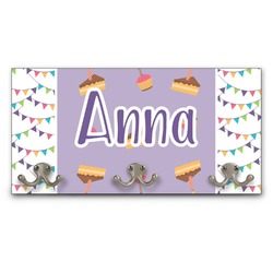 Happy Birthday Wall Mounted Coat Rack (Personalized)