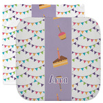 Happy Birthday Facecloth / Wash Cloth (Personalized)