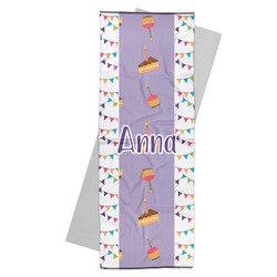Happy Birthday Yoga Mat Towel (Personalized)