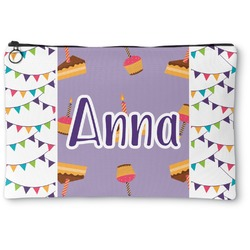 Happy Birthday Zipper Pouch (Personalized)