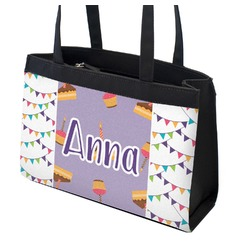 Happy Birthday Zippered Everyday Tote (Personalized)