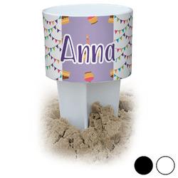 Happy Birthday Beach Spiker Drink Holder (Personalized)