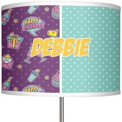 """Pinata Birthday 13"""" Drum Lamp Shade (Personalized)"""