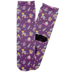 Pinata Birthday Adult Crew Socks (Personalized)
