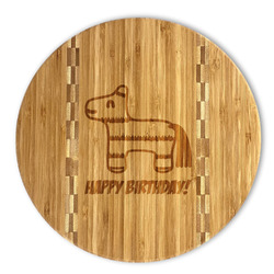 Pinata Birthday Bamboo Cutting Board (Personalized)