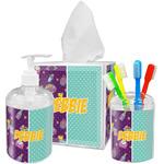 Pinata Birthday Acrylic Bathroom Accessories Set w/ Name or Text