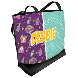 Pinata Birthday Beach Tote Bag (Personalized)