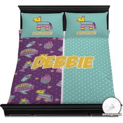Pinata Birthday Duvet Cover Set (Personalized)