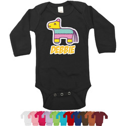Pinata Birthday Bodysuit - Long Sleeves - 0-3 months (Personalized)