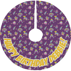 Pinata Birthday Tree Skirt (Personalized)