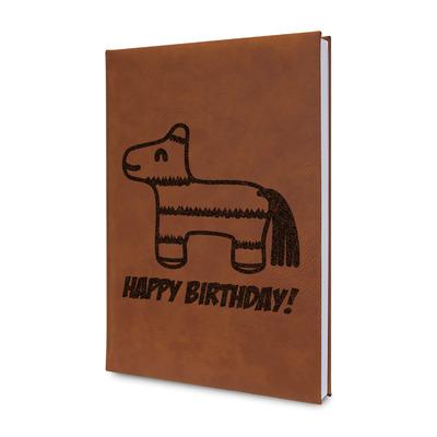 Pinata Birthday Leatherette Journal (Personalized)