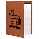 Pinata Birthday Leatherette Portfolio with Notepad (Personalized)