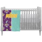 Pinata Birthday Crib Comforter / Quilt (Personalized)