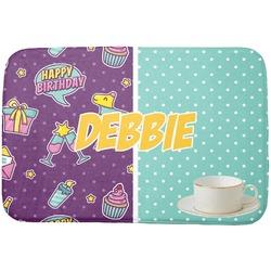 Pinata Birthday Dish Drying Mat (Personalized)