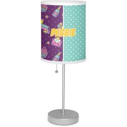 "Pinata Birthday 7"" Drum Lamp with Shade (Personalized)"