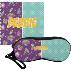 Pinata Birthday Eyeglass Case & Cloth (Personalized)
