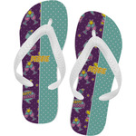 Pinata Birthday Flip Flops (Personalized)