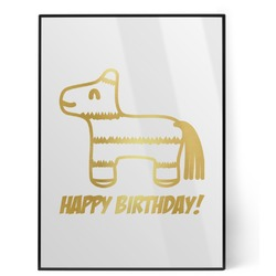 Pinata Birthday Foil Print (Personalized)