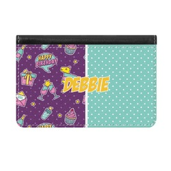 Pinata Birthday Genuine Leather ID & Card Wallet - Slim Style (Personalized)