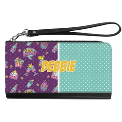 Pinata Birthday Genuine Leather Smartphone Wrist Wallet (Personalized)