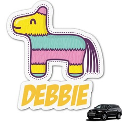 Pinata Birthday Graphic Car Decal (Personalized)
