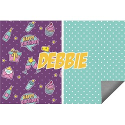 Pinata Birthday Indoor / Outdoor Rug - 6'x9' (Personalized)
