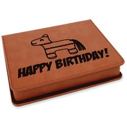 Pinata Birthday Leatherette 4-Piece Wine Tool Set (Personalized)