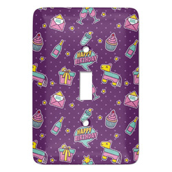 Pinata Birthday Light Switch Covers - Multiple Toggle Options Available (Personalized)