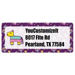 Pinata Birthday Return Address Labels (Personalized)