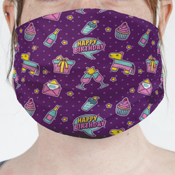 Pinata Birthday Face Mask Cover (Personalized)