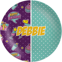 Pinata Birthday Melamine Plate (Personalized)