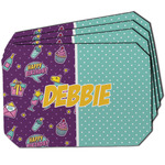 Pinata Birthday Dining Table Mat - Octagon w/ Name or Text