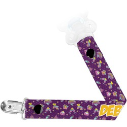 Pinata Birthday Pacifier Clips (Personalized)